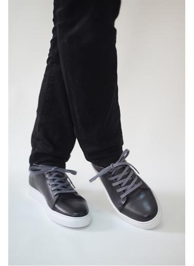 La scada Grı Erkek Casual Ayakkabı Tp1413 Gri